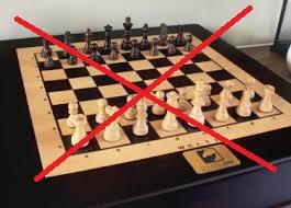 Geen schaken